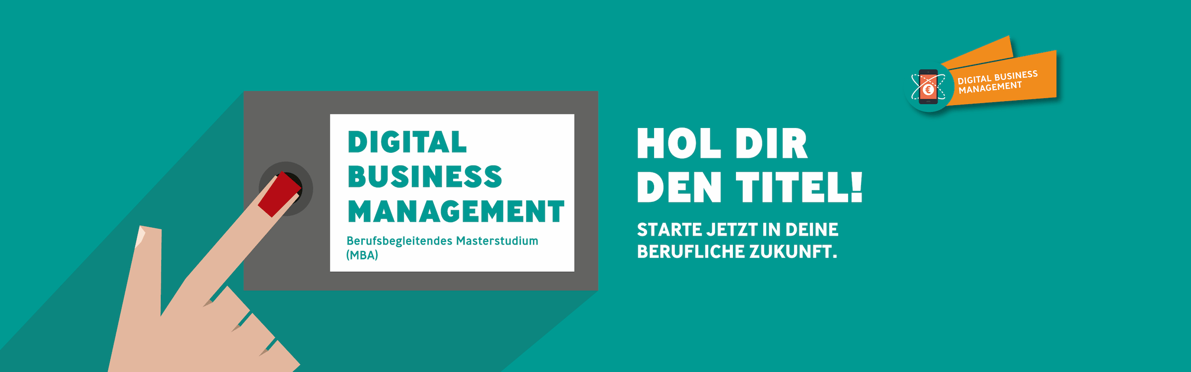 Bild für Banner Digital Business Management